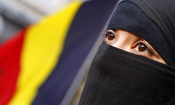 Archivbild: Eine Frau mit Nikab in Belgien / Bild: REUTERS