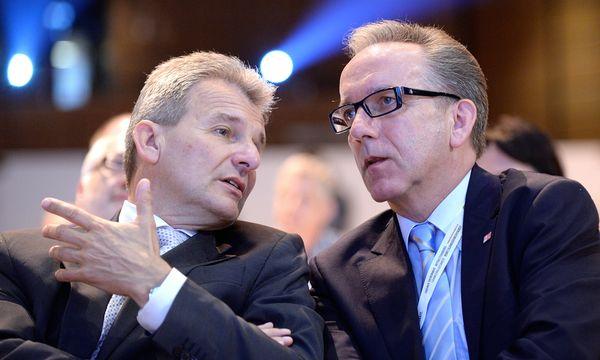 ÖGB-Präsident Erich Foglar (L.) und AK-Präsident Rudolf Kaske / Bild: (c) APA/ROBERT JAEGER (ROBERT JAEGER)