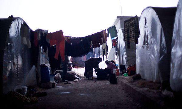 Bild eines anderen Flüchtlingslagers in Azaz. / Bild: (c) AP/Manu Brabo