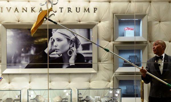Ivanka Trump kommt bei Nordstrom nicht gut an / Bild: AFP (TIMOTHY A. CLARY)
