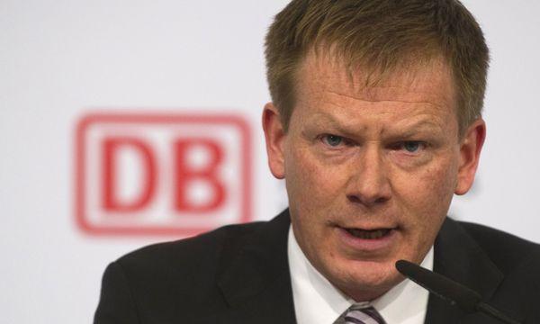 Richard Lutz, bisher Finanzvorstand, soll Rüdiger Grube als neuer Deutsche-Bahn-Chef folgen. / Bild: (c) APA/AFP/JOHN MACDOUGALL