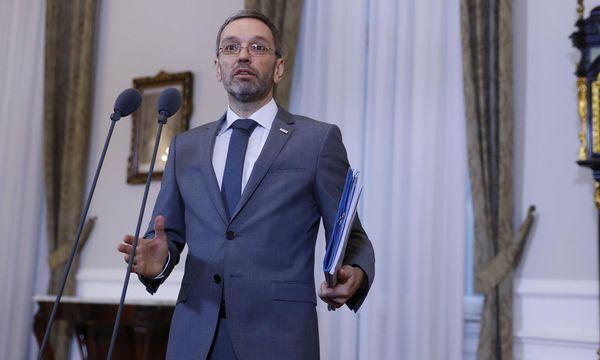 Innenminister Herbert Kickl (FPÖ) / Bild: (c) Reuters