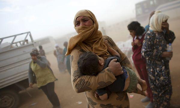 Syrische Flüchtlinge / Bild: Reuters