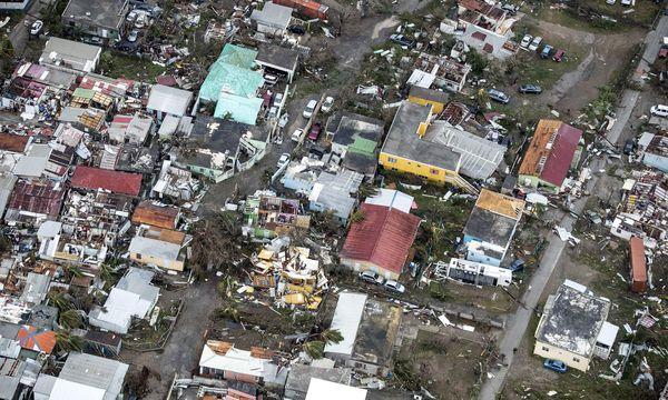 Zerstörung nach Hurrikan Irma / Bild: (c) APA/AFP/GERBEN VAN ES