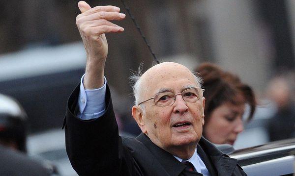 Giorgio Napolitano / Bild: EPA
