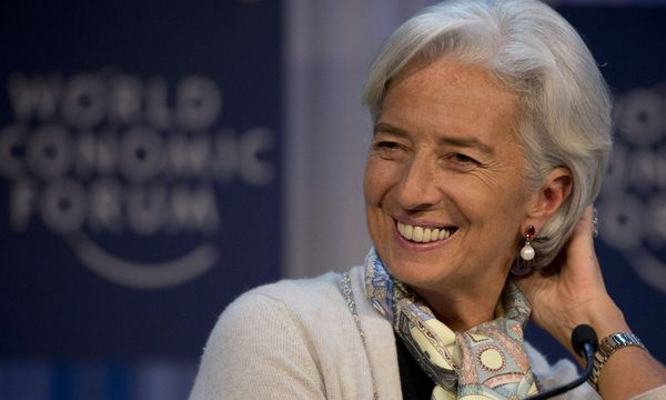 Christine Lagarde / Bild: (c) AP (Anja Niedringhaus)