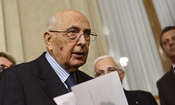 Italien: Napolitanos Sondierungsgespräche erfolglos / Bild: EPA