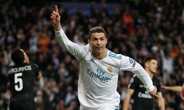 Ronaldo jubelt / Bild: REUTERS