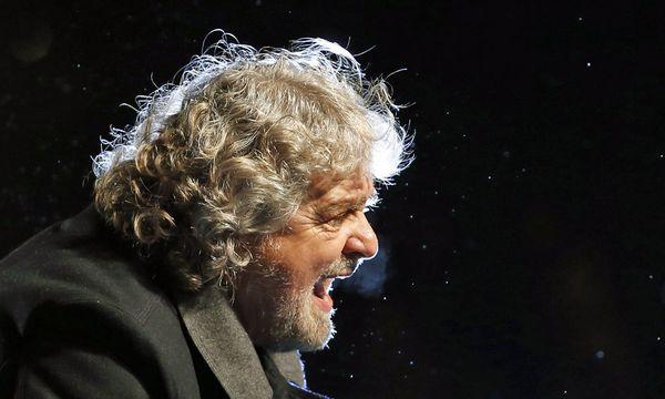 Starkomiker Beppe Grillo / Bild: (c) REUTERS (STEFANO RELLANDINI)