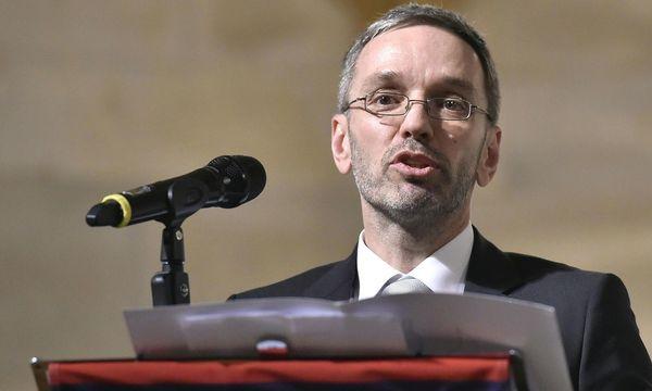 Innenminister Herbert Kickl (FPÖ)  / Bild: APA/HANS PUNZ