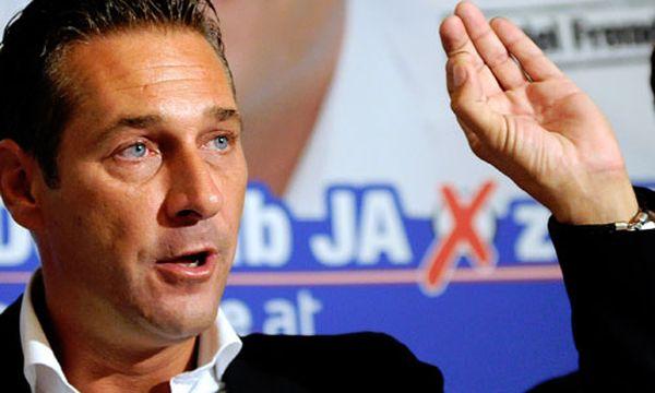 Strache stemmt sich gegen rechtsradikale Ungarnpartei / Bild: Heinz-Christian Strache (c) APA (Hans Klaus Techt)