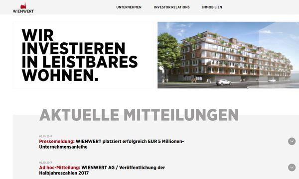 Bild: (c) Screenshot/Wienwert