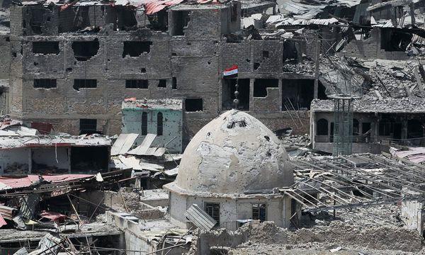 Der neun Monate lang dauernde Kampf hat Spuren hinterlassen / Bild: APA/AFP/AHMAD AL-RUBAYE