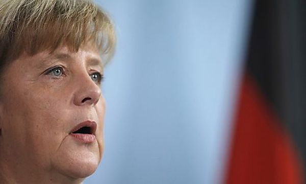 Merkel / Bild: (c) REUTERS (Thomas Peter)