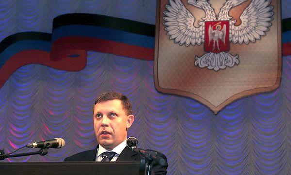 Alexander Sachartschenko, Präsident der