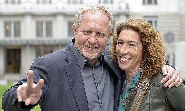 Adele Neuhauser und Harald Krassnitzer / Bild: APA/HERBERT NEUBAUER