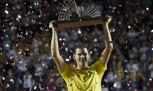 Dominic Thiem gewinnt das Turnier in Rio de Janeiro. / Bild: (c) APA/AFP/J.P.ENGELBRECHT (J.P.ENGELBRECHT)