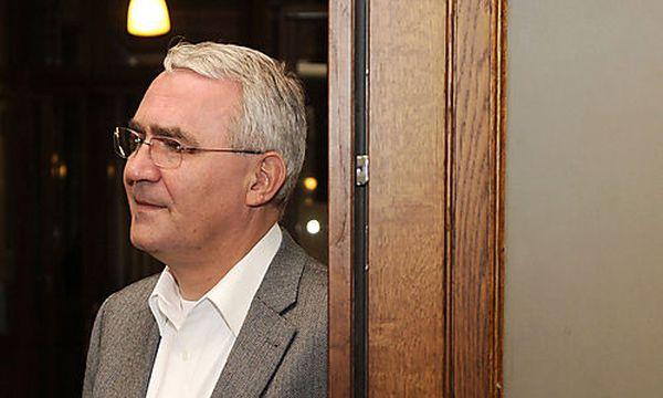 Archivbild: Martin Graf im November 2009. / Bild: (c) APA/HELMUT FOHRINGER (Helmut Fohringer)