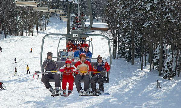 """Und Ski fährt man doch"" / Bild: (c) www.BilderBox.com (www.BilderBox.com)"