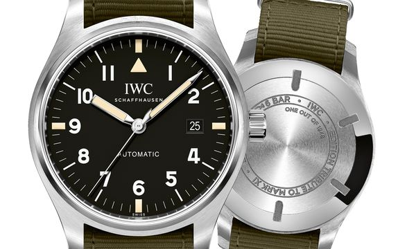 "(c) Beigestellt IWC Schaffhausen ""Mark XVIII Edition Tribute to Mark XI"" (Ref. IW327007)"