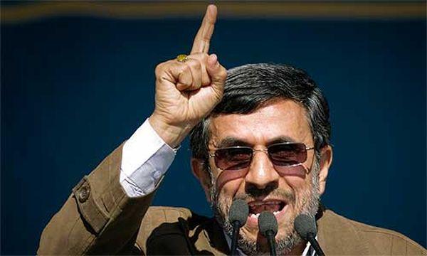 Ahmadinejad / Bild: CAREN FIROUZ