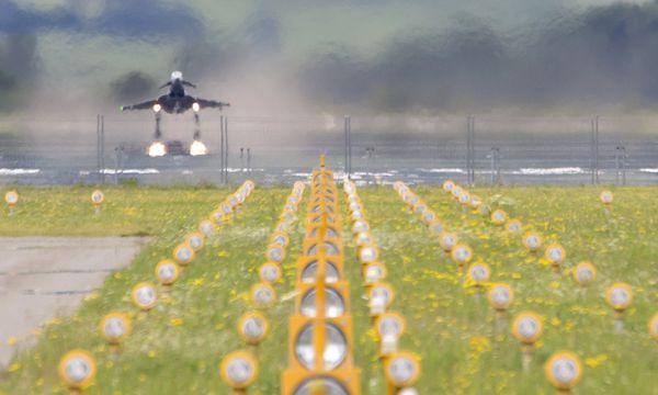 Die Eurofighter werden vielleicht bald nicht mehr durchstarten. / Bild: (c) APA