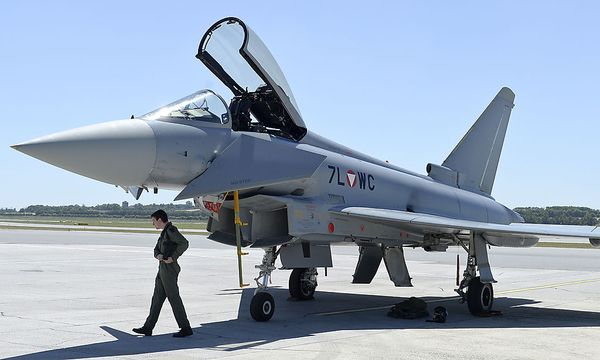 Eurofighter / Bild: APA/HERBERT NEUBAUER