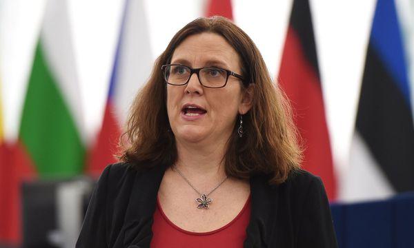 EU-Handelskommissarin Cecilia Malmström  / Bild:  AFP (FREDERICK FLORIN)