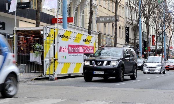 Mariahilfer Straße: Wirtschaftskammer befürchtet Mehrkosten / Bild: Die Presse