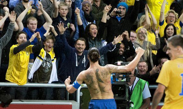 Ibrahimovic trifft zu spaet / Bild: AP
