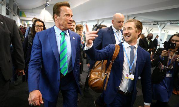 Schwarzenegger in Bonn. / Bild: (c) Reuters
