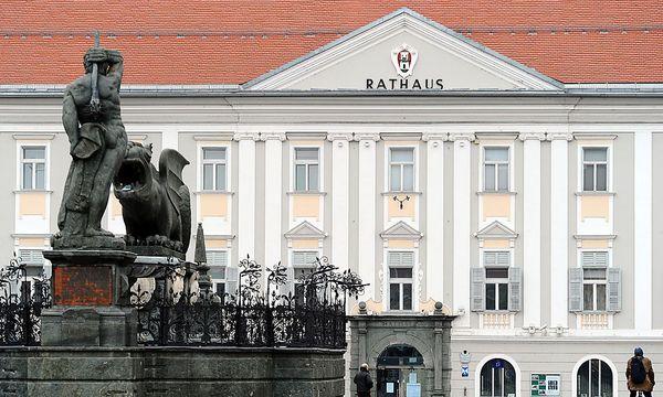 Im Klagenfurter Rathaus geht nicht alles geordnet zu. / Bild: (c) APA/BARBARA GINDL (BARBARA GINDL)