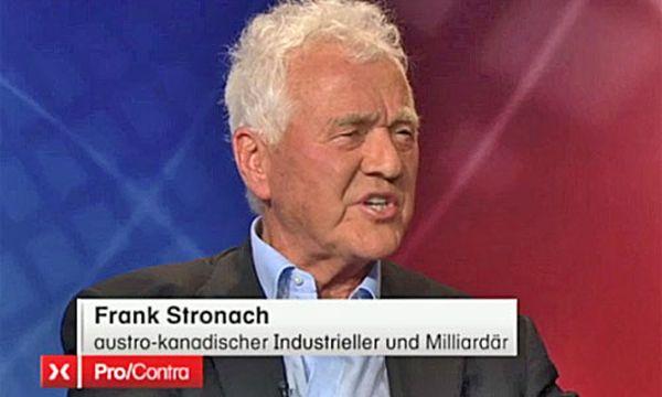 Frank Stronach in der Sendung