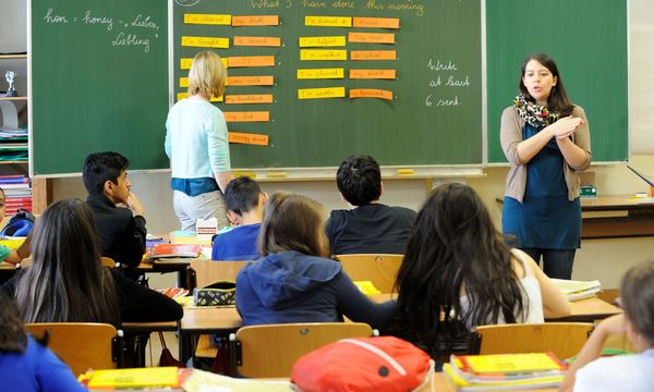 Unterricht in einer NMS. / Bild: (c) Clemens Fabry