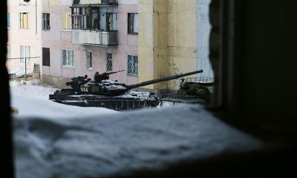 Donbass-Stadt Awdiiwka / Bild: (c) APA/AFP/ALEKSEY FILIPPOV