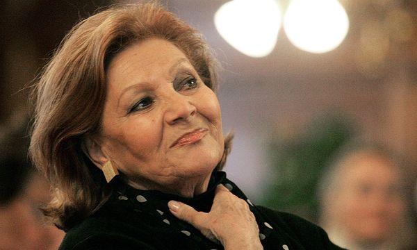 Louise Martini (1931 - 2013). / Bild: (c) APA HERBERT PFARRHOFER (HERBERT PFARRHOFER)