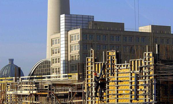 Symbolbild Baustelle in Berlin /
