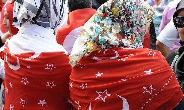 Solidaritätskundgebung für Erdogan in Wien  / Bild: APA/HANS PUNZ