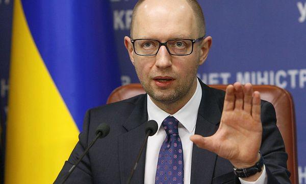 Jazenjuk will mit Russland auf