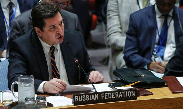 Der russische UN-Botschafter. / Bild: APA/AFP/KENA BETANCUR