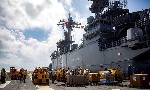 Die USS Kearsarge bringt Hilfsgüter nach Puerto Rico. / Bild: REUTERS