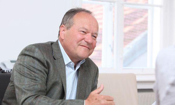 Landwirtschaftskammer-Präsident Hermann Schultes / Bild: FOLTIN Jindrich / WB