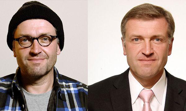 Schierhackl als Hilfsarbeiter Karl Resch (li.) / Bild: ORF/MME/Sabine Eble