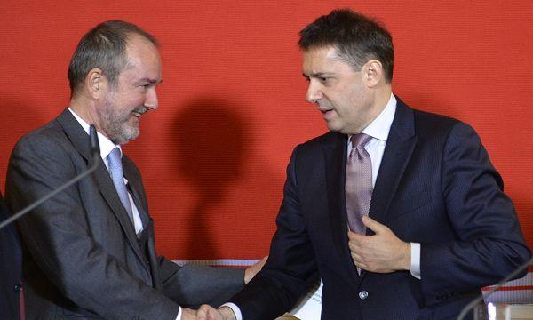 Thomas Drozda stellte Bogdan Roščić im Dezember als künftigen Staatsoperndirektor vor / Bild: (c) APA (HERBERT NEUBAUER)