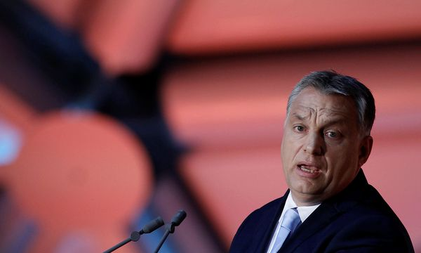 Archivbild: Viktor Orbán bei einer Rede im Juni / Bild: REUTERS
