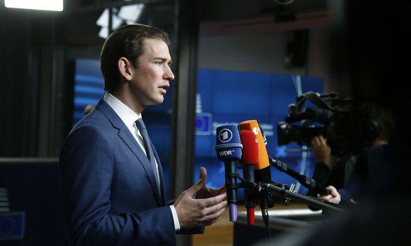 Außenminister Sebastian Kurz (ÖVP) in Brüssel / Bild: APA/AUSSENMINISTERIUM/DRAGAN TATIC