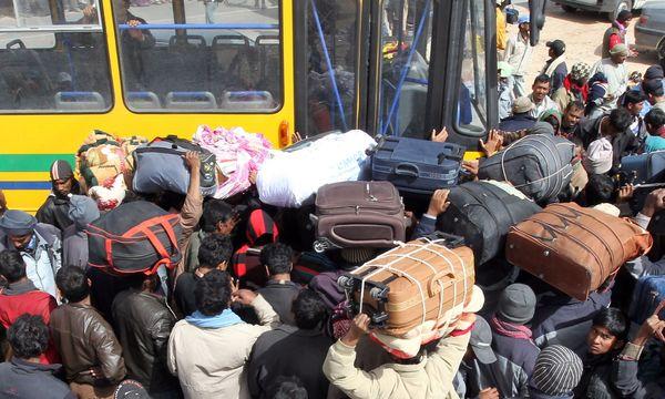 Symbolbild: Flüchtlinge von Libyen / Bild: APA/EPA