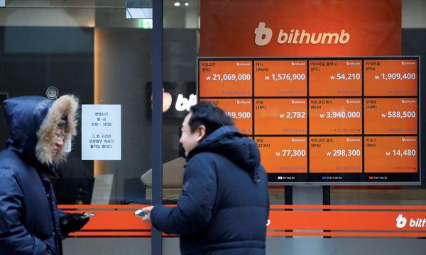 Das Justizministerium in Südkorea will den Börsenhandel mit den digitalen Währungen verbieten. / Bild: REUTERS