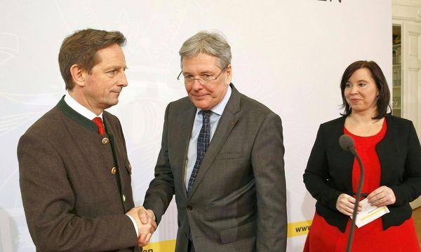 Einigkeit in Kärnten  / Bild: (c) APA (GERT EGGENBERGER)