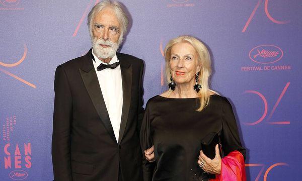 Michael und Susanne Haneke bei den Filmfestspielen in Cannes. / Bild: imago/Future Image